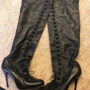 03f3bc0f29a Christian Louboutin Shoes | Otk Sempre Monica Tall Boots | Poshmark